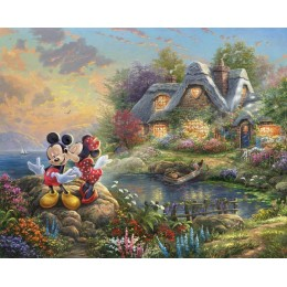 Disney Dreams Sweetheart Cove Mickey Minnie Mouse