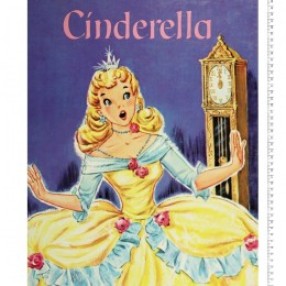 Disney Storybook Collection Cinderella  Quilt top panel