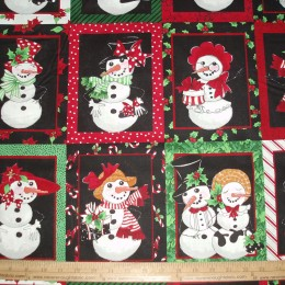 Loralie Designs SNOW LADY panel
