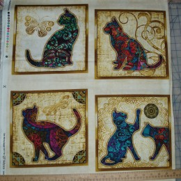 Dan Morris for QT Purr-suasion -cat patches cream  PANEL