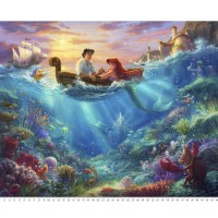 Disney Dreams Thomas Kinkade  the Little Mermaid