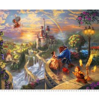 Disney Dreams Thomas Kinkade  Beauty and the Beast