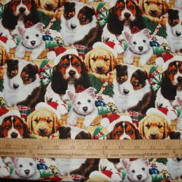 Cotton Christmas Dogs