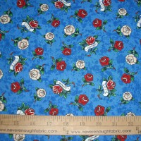 Ed Hardy Love is True Roses on Blue