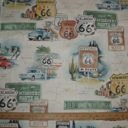 Alexander Henry on Route 66 on Tea