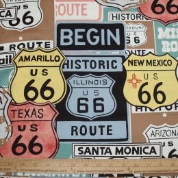Alexander Henry Historic Route 66  color A