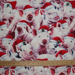 Art Licensing Christmas Pigs