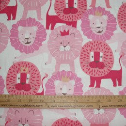 Alexander Henry Baby Lions in pinks