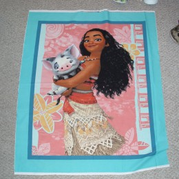 Cotton Quilt top panel Disney Moana