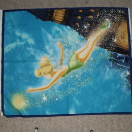 Cotton Flannel Tinkerbell Quilt panel