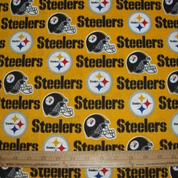NFL Pittsburgh Steelers on yellow