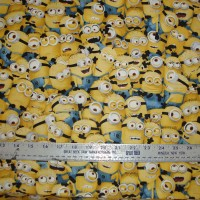 Cotton Fabric Minions packed