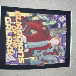 Cotton Quilt top panel Guardians of the Galaxy