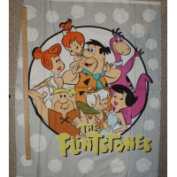 Cotton Quilt panel The Flintstones