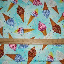 Ice Cream cones with sprinkles