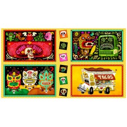 Hot Tamale Taco Truck patches panel