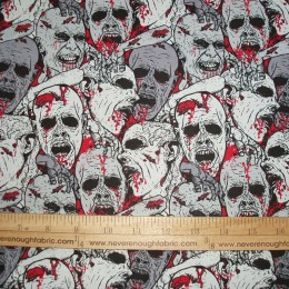COTTON DT ZOMBIE ZOMBIE and more Zombies! Black gray red