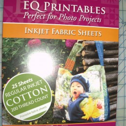 EQ Printables Inkjet Fabric Sheets 25 count