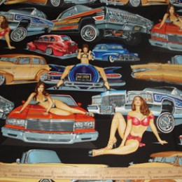 Alexander Henry Low and Slow cars & girls