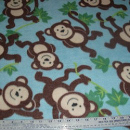 Fleece A Bunch of Monkeys