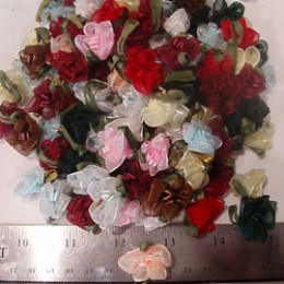 Organza SNAPDRAGONS in assorted colors  #45