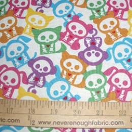 Skelanimals multi color on white