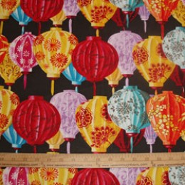 Chinese Lanterns by Courtney Davis
