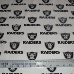 Poly/Cotton Los Angeles RAIDERS football