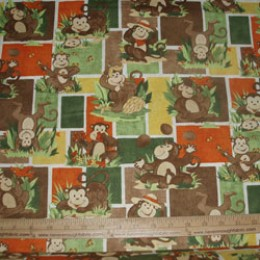 Monkey Games patchwork by SSI