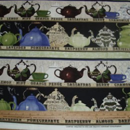 J. Wecker Frisch Short & Stout TEA and TEAPOTS linear