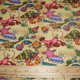 Cotton Fabric Loyds & Barton Under the Sea