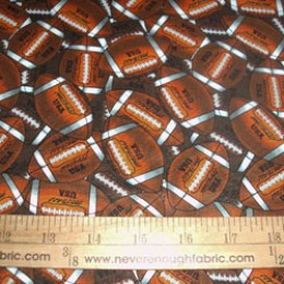 Cotton packed FOOTBALLS