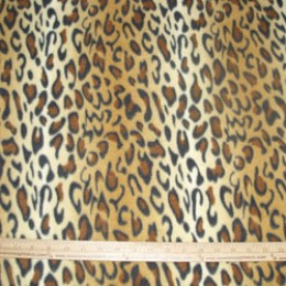 Fleece Animal Skin print LEOPARD