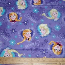 Disney's Frozen Sisters Forever on lavender
