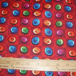 Cotton Fabric BUTTONS