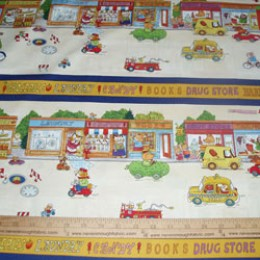 Cotton Richard Scarry Busy Town Linear