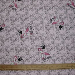 Hope for the cure Breast cancer FLANNEL