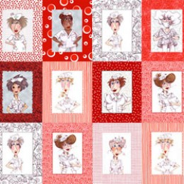 Loralie Designs NIFTY NURSE Panel Blocks