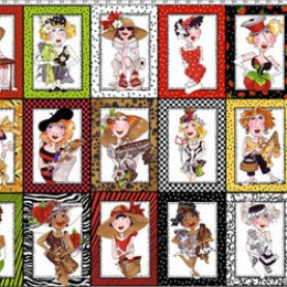 Loralie Designs Sew Creative Blocks Panel